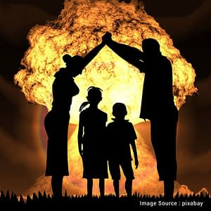 nuclear war affects in human being
