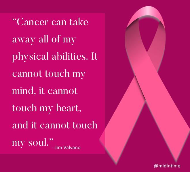 Cancer can take away all of my physical abilities - Jim Valvano