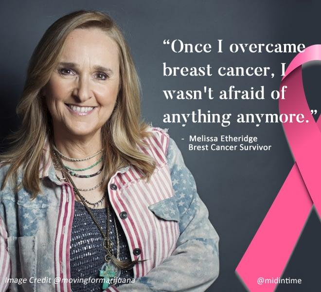 Melissa Etheridge Brest Cancer Survivor
